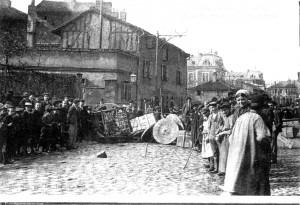 1905 Greve des Porcelainiers de Limoges barricades